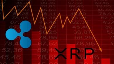 العملة الرقمية XRP تنخفض بمستوى قياسي جديد لم تسجله منذ شهر يونيو 2020
