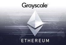 """شركة """"Grayscale"""" تشتري بما قيمته 74 مليون دولار من الايثيريوم ... التفاصيل هنا"""