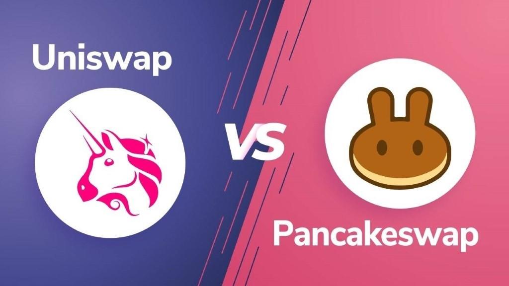 """لماذا تستمر منصة التداول اللامركزي """"PancakeSwap"""" في أخذ حصة منصة """"Uniswap""""؟"""