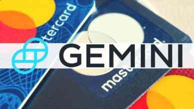 """منصة Gemini تعلن عن شراكة مع """"ماستر كارد"""" لإطلاق بطاقة ائتمان كريبتو"""