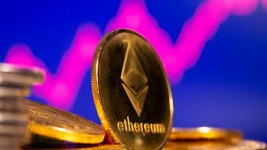 """الايثيريوم تحقق 4000 دولار لأول مرة وقيمتها السوقية تقترب من تجاوز """"جي بي مورغان"""""""