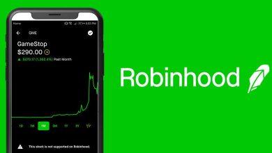"""تراجع نسبة تحميل تطبيق """"Robinhood"""" وتطبيق """"بينانس"""" على متاجر التطبيقات...ماذا يعني؟"""