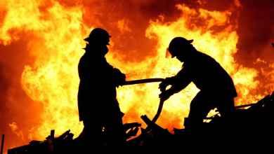 حريق لايبزغ