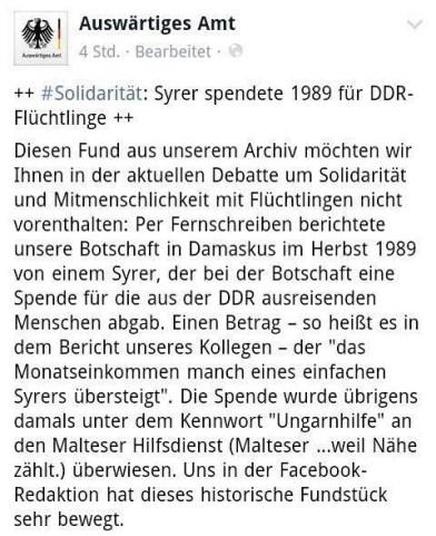 سوري ساعد لاجئين ألمان