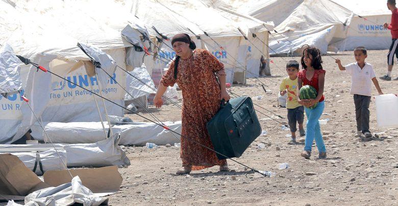أوضاع اللاجئين السوريين