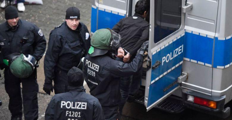 هجوم على الشرطة الألمانية