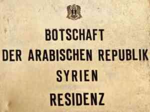 syrische botschaft berlin