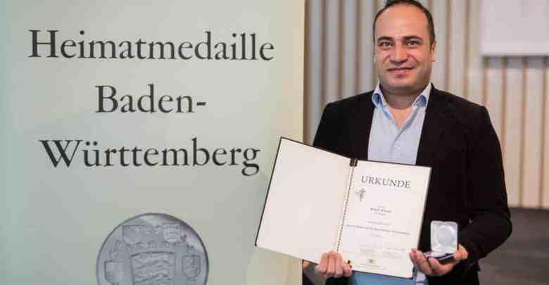 حصول لاجئ سوري على ميدالية وطنية
