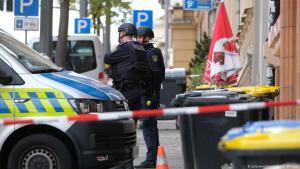 ألمانيا اطلاق نار امام المعبد اليهودي اسفر عن قتيلين والكشف عن هوية الجاني