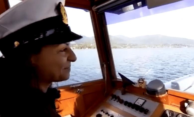 لاجئة سورية تعمل قبطان على متن سفينة ألمانية ..بعد نجاتها من الموت عدة مرات