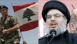 مظاهرات لبنان و الجيش اللبناني يدعم المتظاهرين
