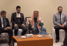Photo of بالفیدیو: لحظة وفاة داعیة فلسطیني كان یلقي محاضرة في حفل زفاف في الكویت