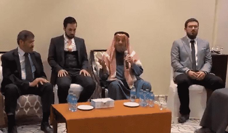 بالفیدیو لحظة وفاة داعیة فلسطیني كان یلقي محاضرة في حفل زفاف في الكویت