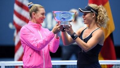 صورة بالفيديو والصور..زفوناريفا وسيغموند تحققان لقب زوجي السيدات في بطولة أمريكا المفتوحة