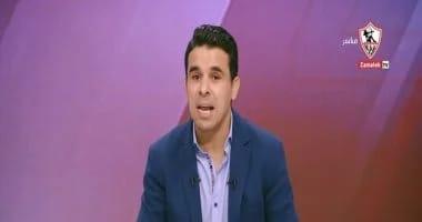 صورة خالد الغندور يكشف موعد عودته لقناة الزمالك