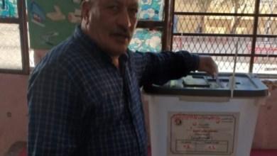 صورة الكابتن مجدي الشيخ يدلي بصوتة ويشارك في انتخابات الإعادة لمجلس الشيوخ المصري 2020