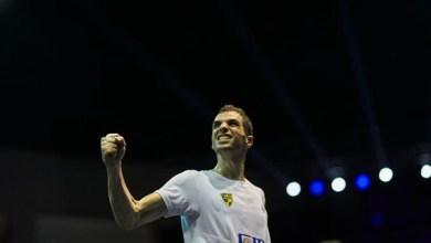 صورة الدجلاوي على فرج يتأهل لنهائي بطولة مصر المفتوحة للإسكواش