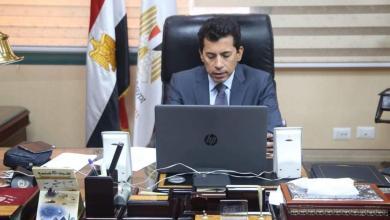 صورة وزير الرياضة المصري يشيد بتطور الاعلام الرياضي العربي