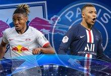 صورة أبطال أوروبا – مباراة باريس سان جيرمان ولايبرج تشكيل الفريقين