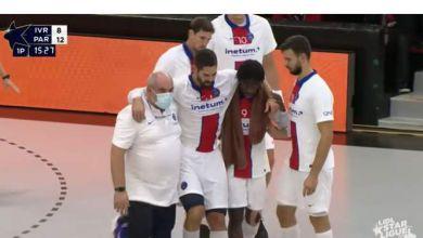 صورة الإصابة تحرم الفرنسي كاراباتيتش من المشاركة في مونديال اليد مصر 2021