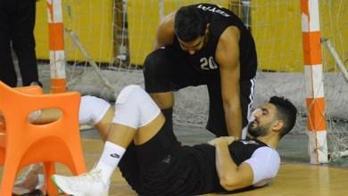 صورة تفاصيل إصابة قائد منتخب مصر لكرة السلة قبل أيام من تصفيات أفريقيا