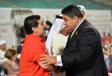 صورة الأولمبياد الخاص الدولى ينعى رحيل مارادونا صاحب ضربة البداية فى كأس العالم للاولمبياد الخاص