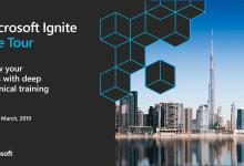 """Photo of مؤتمر مايكروسوفت """"Ignite"""" العالمي لمطوري تكنولوجيا المعلومات يعقد لأول مرة في منطقة الخليج بإمارة دبي"""