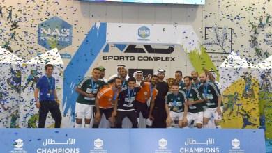 Photo of منصور بن محمد يكرم الفائزين في دورة ند الشبا الرياضية