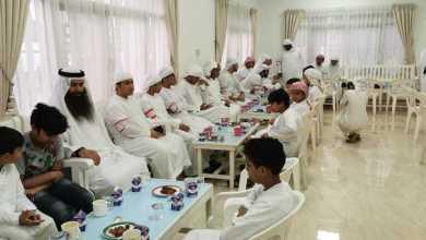 "Photo of عبدالملك بن كايد يستضيف أيتام ""دار البر"" في رأس الخيمة"