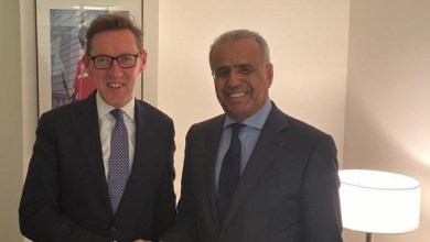 Photo of معالي عبيد حميد الطاير يلتقي مع وزير العلاقات الخارجية في حكومة جيرسي