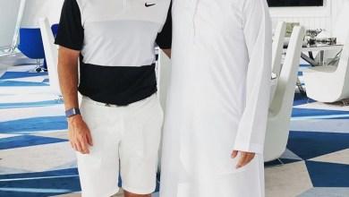 Photo of النجم العالمي ماكلروي يشكر ولي عهد دبي