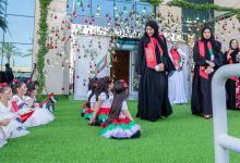 Photo of أجواء وطنية تراثية في احتفال وزارة تنمية المجتمع باليوم الوطني الــ48