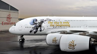 Photo of 'UAE in Space Livery' makes its operational debut