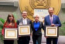 Photo of كليات التقنية العليا تحصد الجائزة العالمية للجودة من المجلس العالمي للاعتماد الأكاديمي (CHEA) في حفل بواشنطن