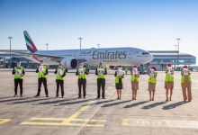 Photo of This is not goodbye: Emirates ground crews give an emotional send-off to last flights