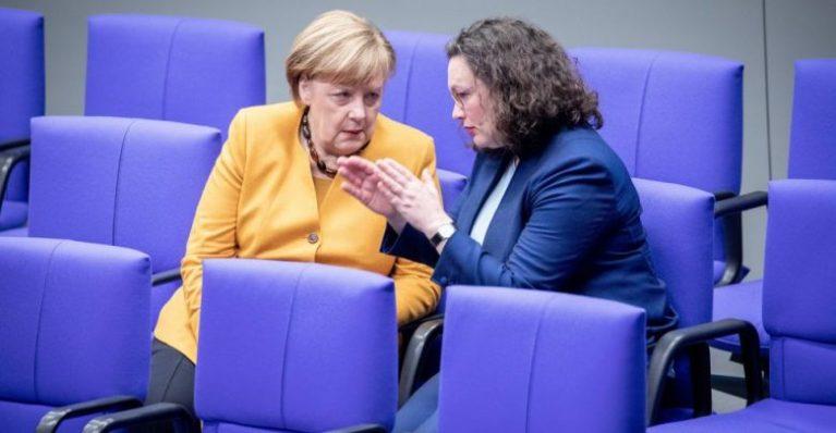 استقالة أندريا نالس في ألمانيا