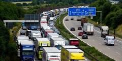 سائق يتسبب بازدحام على طريق سريع في ألمانيا
