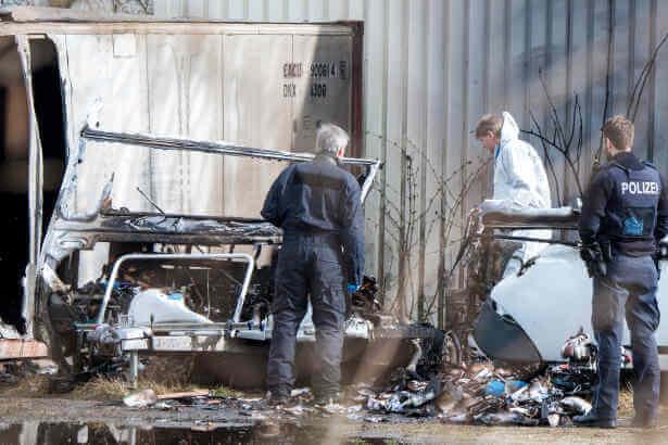 تبادل إطلاق نار في مدينة ألمانية والعثور على جثتين