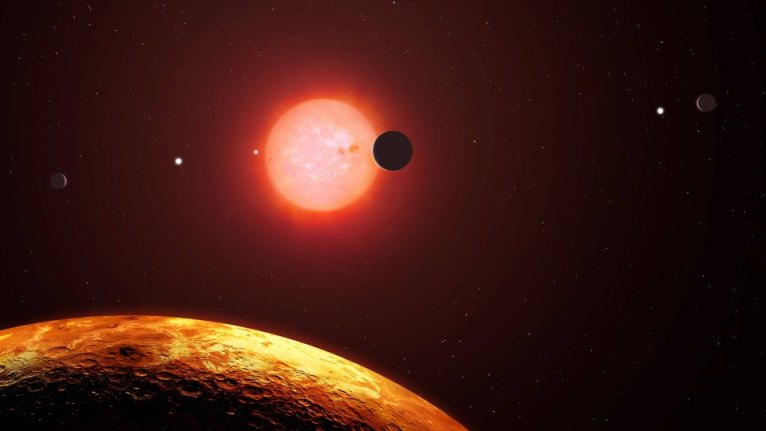 اكتشاف من نوع خاص كوكب ذو وجهين مختلفين ويمطر حديداً سائلاً ساخناً