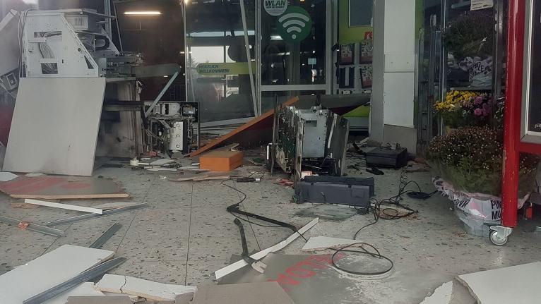 تفجير جهاز الصراف الآلي في مدينة ألمانية