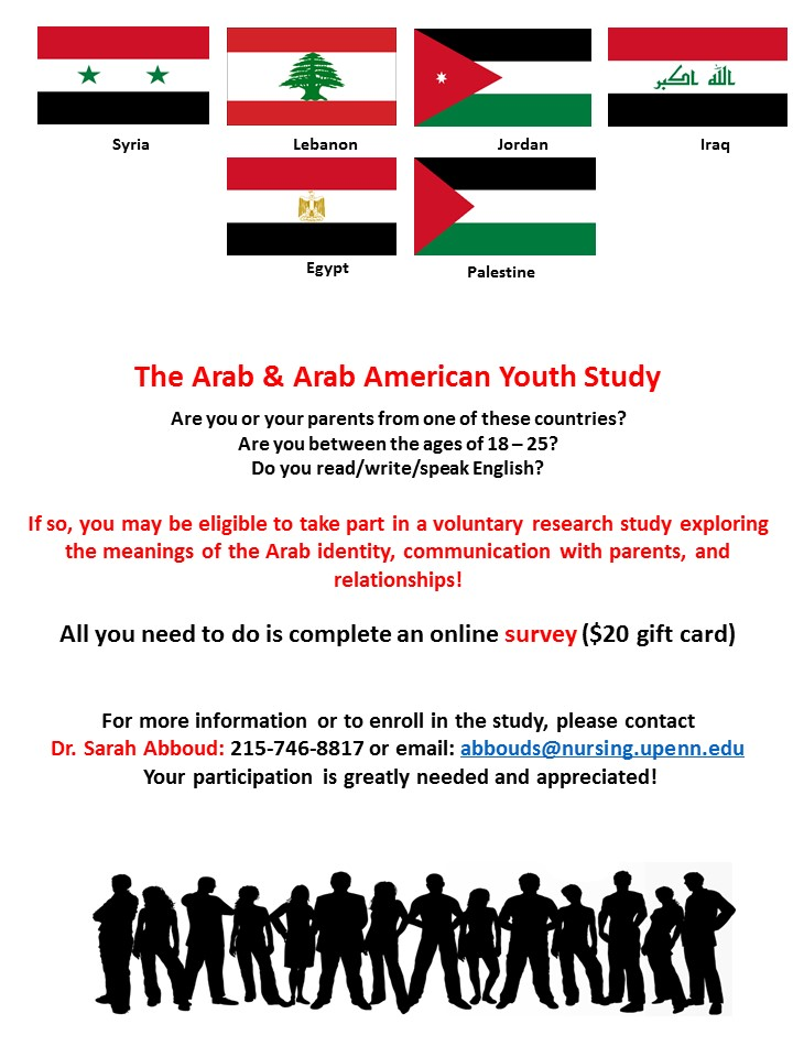 Male Arab American Study Participants Needed – Arab American Studies
