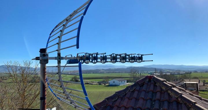 Antena TDT en verano
