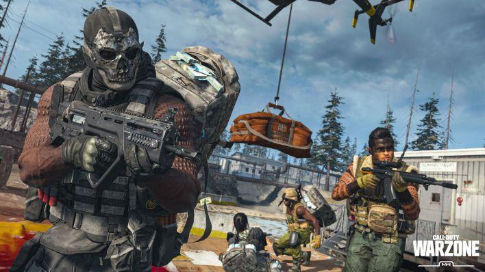ألعاب كمبيوتر مجانية Call Of Duty: Warzone