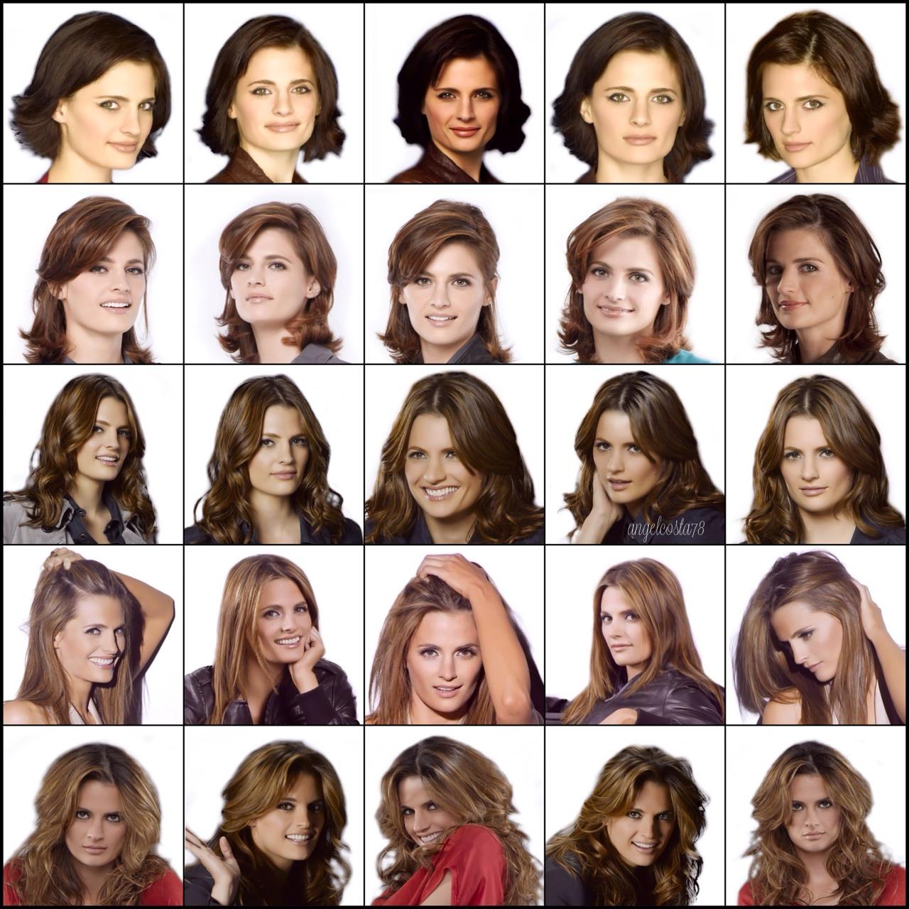 In Focus The Various Looks Of Kate Beckett Arabella & Jaune