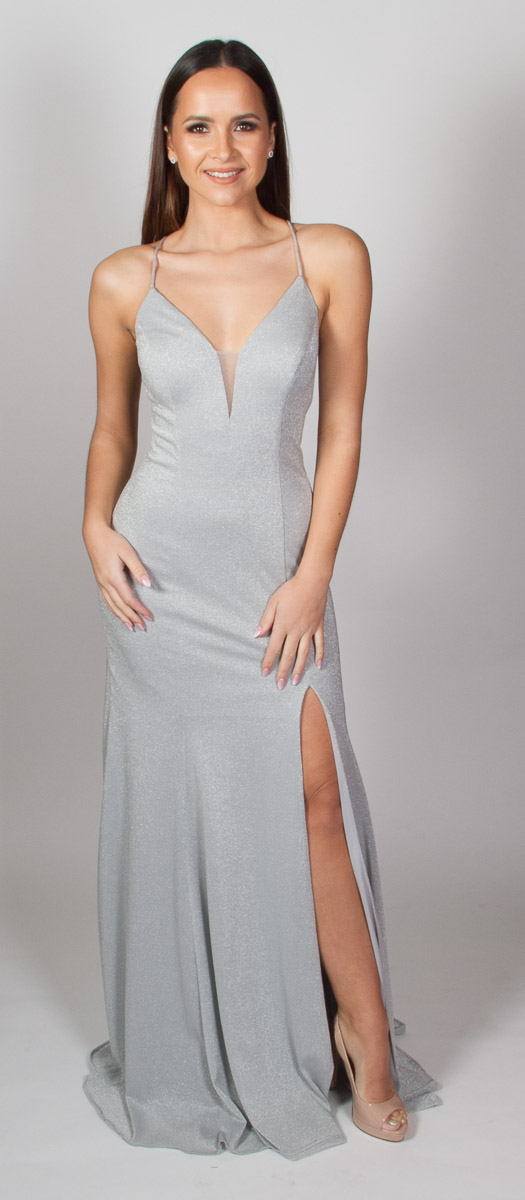 Shimmer (Silver) Front
