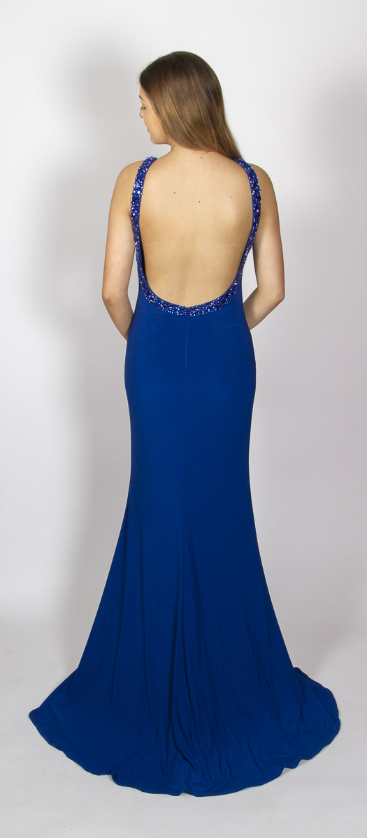 Audrey (Royal Blue) Back
