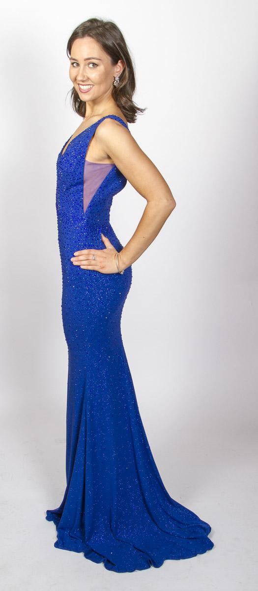 Tina (Royal Blue) Side