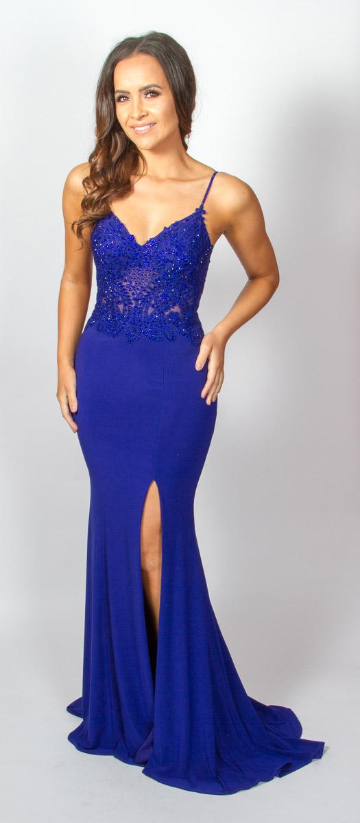 Skye (Velvet Blue) Front