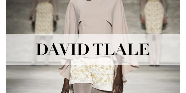 DAVID TLALE