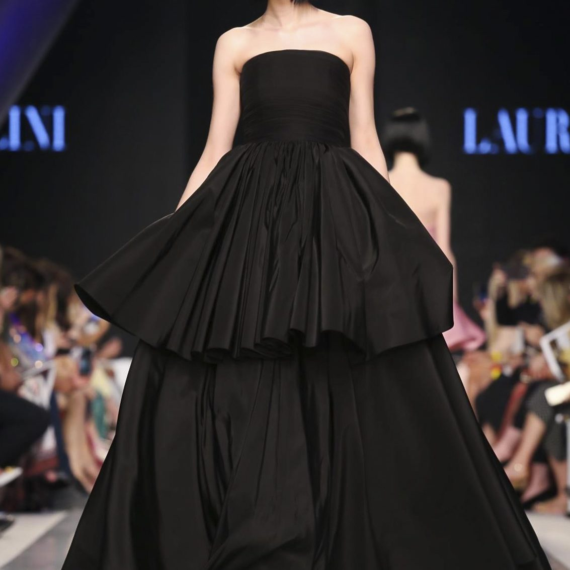 Laura Mancini Resort 2018 Collection, Arab Fashion Week, Dubai